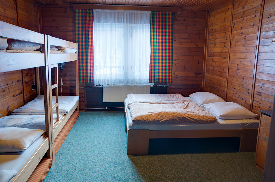Šestilůžkový pokoj